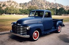 '53 Chevy pickup. Nate and I would love to own one someday soon; but bickering over flat black or forest green. :)