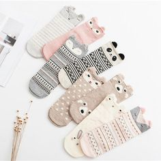 Baby Girls 3 pairs Soft Rich Cotton Ankle Length Socks with Turn over Top and Beautiful Frilly Leaf Lace Guipure Trims Available in White or Cream