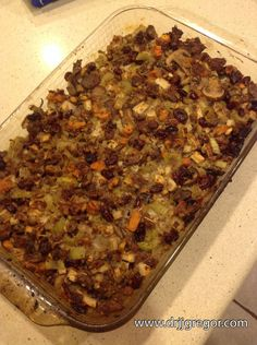 Paleo Stuffing - Better than the stuff with bread! #paleo, #paleorecipes #glutenfree