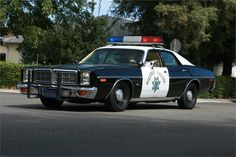 Dodge California Highway Patrol Car. ★。☆。JpM ENTERTAINMENT ☆。★。