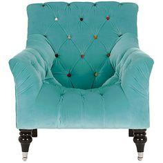 My perfect living room - Mr Bright Chair, Aqua. Sala Vip, Tufted Chair, Bedroom Chair, Chair Cushions, Swivel Chair, Dining Chair, Love Chair, Funky Furniture, Take A Seat