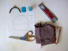 Coin Purse Tutorial Supplies by annekata, via Flickr