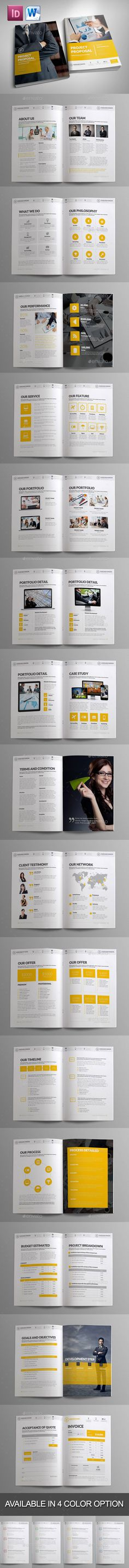 Project Proposal Template - V1 - Updated Project proposal - download business proposal template