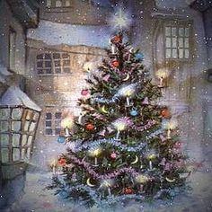 60 fantastiche immagini su sfondi natalizi animati nel