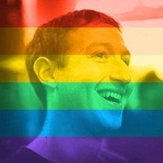 Facebook cria opção de personalizar perfil com bandeira gay