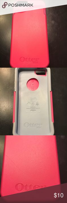 iPhone 5s/6s Otterbox case with card holder Pink and gray iPhone 5s or 6s Otterbox case with slide out for cards. Convenient to use for night out! Used about a week. 1 small scratch on front that is only visible in the right light. OtterBox Accessories Phone Cases