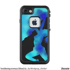 bouldering ecstacy (blue) LifeProof® iPhone 7 case
