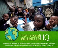 International Volunteer HQ provides safe, quality and affordable overseas volunteering programs, gap year programs holidays, and vacations to developing countries.