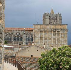 Ávila's cathedral Castilla y León Spain.