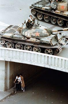 Liu Heung Shing, Beijing, China - June 5, 1989