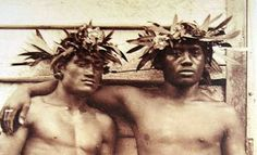 """1778- Crew members under Captain Cook document the concubines of both genders kept by Hawaiian chiefs """"to commit the Sin of Onan [oral sex] upon the old King... It is an office that is esteemed honorable among them & they have frequently asked us on seeing a handsome young fellow if he was not an Ikany [beloved] to some of us.""""  When Christian missionaries arrive 42 years later, this will be one of the first traditions to be abolished."""