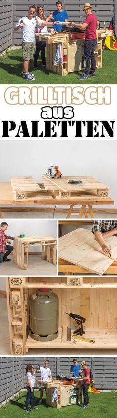 Möbel aus Paletten bauen - Anleitung Möbel aus paletten - hollywoodschaukel selber bauen aus paletten