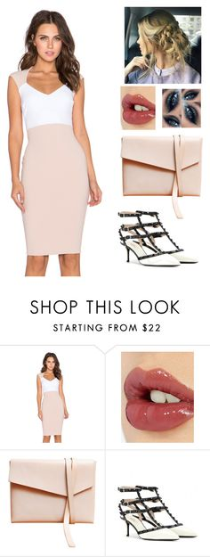""""""""""" by counteractingdreams07 ❤ liked on Polyvore featuring Nookie, Charlotte Tilbury, Elizabeth Cole, Valentino, women's clothing, women, female, woman, misses and juniors"""