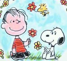 May Flowers ~ Linus and Snoopy