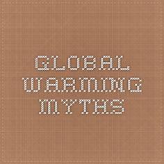 Global Warming Myths Global Warming Myth, Math, Math Resources, Mathematics