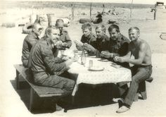 Soviet officers making ravioli during The Battle of Cuito Cuanavale. Yes, ravioli. Yummers!