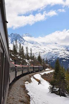 I want to do the transcontinental train ride in Alaska! :-)