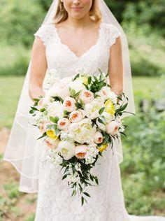 Classic Southern Garden Wedding   JoPhoto on @acoastalbride