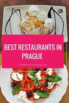 6 of the best restaurants in Prague, Czech Republic that serve light food Looking for the best restaurants in Prague, Czech Republic? Here are my tips for places that serve something else than traditional Czech food. Prague Restaurants, Great Restaurants, Czech Recipes, Ethnic Recipes, Prague Travel, Travel Europe, Amsterdam Travel, Croatia Travel, Italy Travel