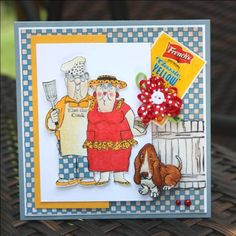 BQ couple sold  separately made by Art Impressions Rubber Stamps, items can be purchased in my ebay Store Pat's Rubber Stamps & Scrapbooks or call me 423-357-4334 with  order, or come by 1327 Glenmar Ave. Mt Carmel, TN 37645, Pat's Rubber Stamps & Scrapbook supplies 423-357-4334. We take PayPal. You get free shipping with the phone orders of $30.00 or more