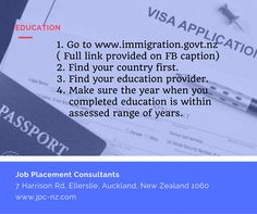 If you plan to study, work or live and have already between 1 and 5 years of education in the country of living. Use this link to check if your education is an exception from assessment: http://www.immigration.govt.nz/opsmanual/35171.htm 1. Find your country first 2. Find your education provider 3. Make sure the year when you completed education is within assessed range of years. If education is not found in the list - leave this question for your Adviser. This means that you have to do a