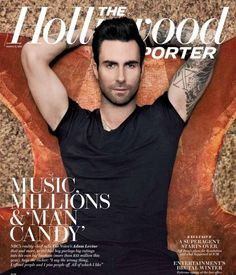 Adam Levine Covers The Hollywood Reporter