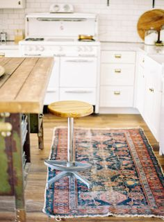 soft kitchen rug