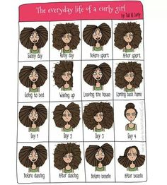 Curly girl problems lol
