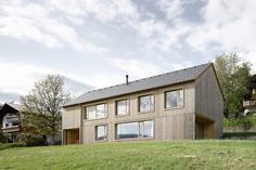 A Simple Gabled House Features an Intricate Latticework Shell | Dwell