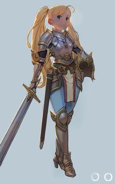 Knight by cenotaph kveldulv | Fantasy | 2D | CGSociety