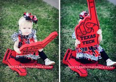 We love our YOUNG fans! Texas Tech!!!