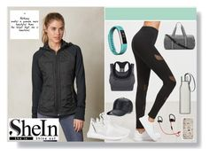 """""""Gym"""" by amy-musiclover3 ❤ liked on Polyvore featuring prAna, Forever 21, adidas Originals, Fitbit and Eva Solo"""