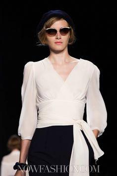 That blouse!