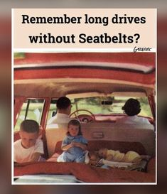 Do you remember long drives without seatbelts? Nostalgia, Childhood Days, 80s Kids, I Remember When, Thats The Way, Ol Days, Good Ole, Great Memories, The Good Old Days