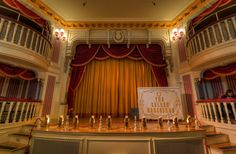 The Golden Horseshoe Stage in Frontierland at Disneyland