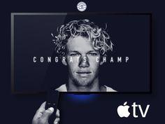 "Consulta este proyecto @Behance: ""World Surf League Apple TV App"" https://www.behance.net/gallery/44461751/World-Surf-LeagueApple-TV-App"