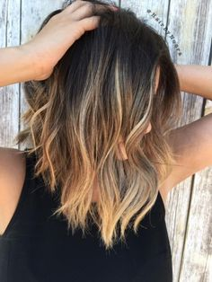 HOW-TO: Balayage Highlights on Brunette Lob | Modern Salon