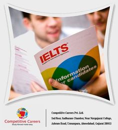 Competitive Careers Pvt. Ltd. is one of the leading Education Consultant in South East Asia and IELTS Training Providers in India.  #Competitive #Study #Education #Student #Ahmedabad #Consultant #visa #IELTS #Careers