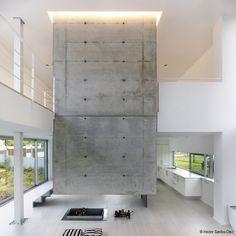 Stairwell. EINS House / Óscar Pedrós
