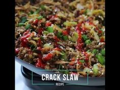 Easy Crack Slaw VIDEO Recipe - Low Carb | Tasteaholics.com