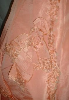 Museum-De-accessioned-1860s-Pink-Silk-3-Piece-Ball-Gown-Dress