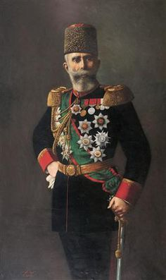 State portrait of Mahmut Şevket Paşa He was an Ottoman general, governor and statesman, and Grand Vizier (prime minister) during the last six months of his life. Turkish People, Crimean War, Military Personnel, Ottoman Empire, Egypt, Panda, History, Portrait, Prime Minister