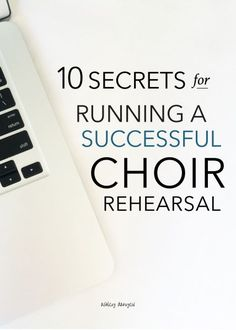"""Successful people do what unsuccessful people are not willing to do. Don't wish it were easier; wish you were better"" (Jim Rohn). // 10 secrets for running a successful choir rehearsal (by /ashleydanyew/) Singing Lessons, Singing Tips, Music Lessons, Choir Warm Ups, Middle School Choir, High School, Elementary Choir, Choir Room, Music Ministry"