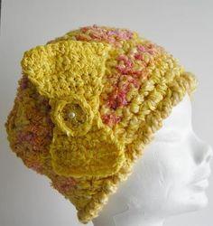 Beret, Jumpers, 1920s, Repurposed, Crochet Hats, Beanie, Seasons, Wool, Inspired