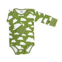 Body original para bebé en algodón orgánico, original baby body by Färg & Form. Made 100% organic cotton