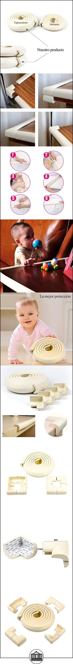 Yober Protectores para Bordes y Esquinas de 2 Metro Seguridad para Bebes y Niños 8 Piezas Protectores de Esquinas Antigolpes  ✿ Seguridad para tu bebé - (Protege a tus hijos) ✿ ▬► Ver oferta: http://comprar.io/goto/B01N4AH4L1