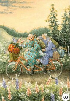 Inge look old ladies postcards, Postcards funny online buy nuala been look art nl Images Victoriennes, Old Lady Humor, Buch Design, Crazy Friends, Jolie Photo, Whimsical Art, Old Women, Cute Art, Illustrators