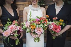 bright bouquets by Molly Oliver flowers © Khaki Bedford Photography www.khakibedfordphoto.com