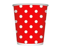 Polka Rojo Vaso 9 Oz Minnie Mouse, Canning, Tableware, Vase, Dinnerware, Tablewares, Home Canning, Dishes, Place Settings
