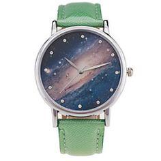 Fashion Starry Sky Watch Casual Women Quartz Watches Wristwatches Relogio Feminino Clock